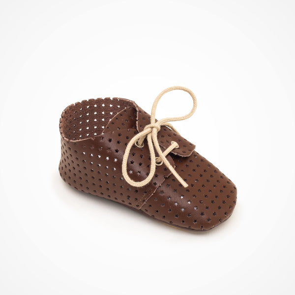 Salome Baby shoe | Lou Brown with star