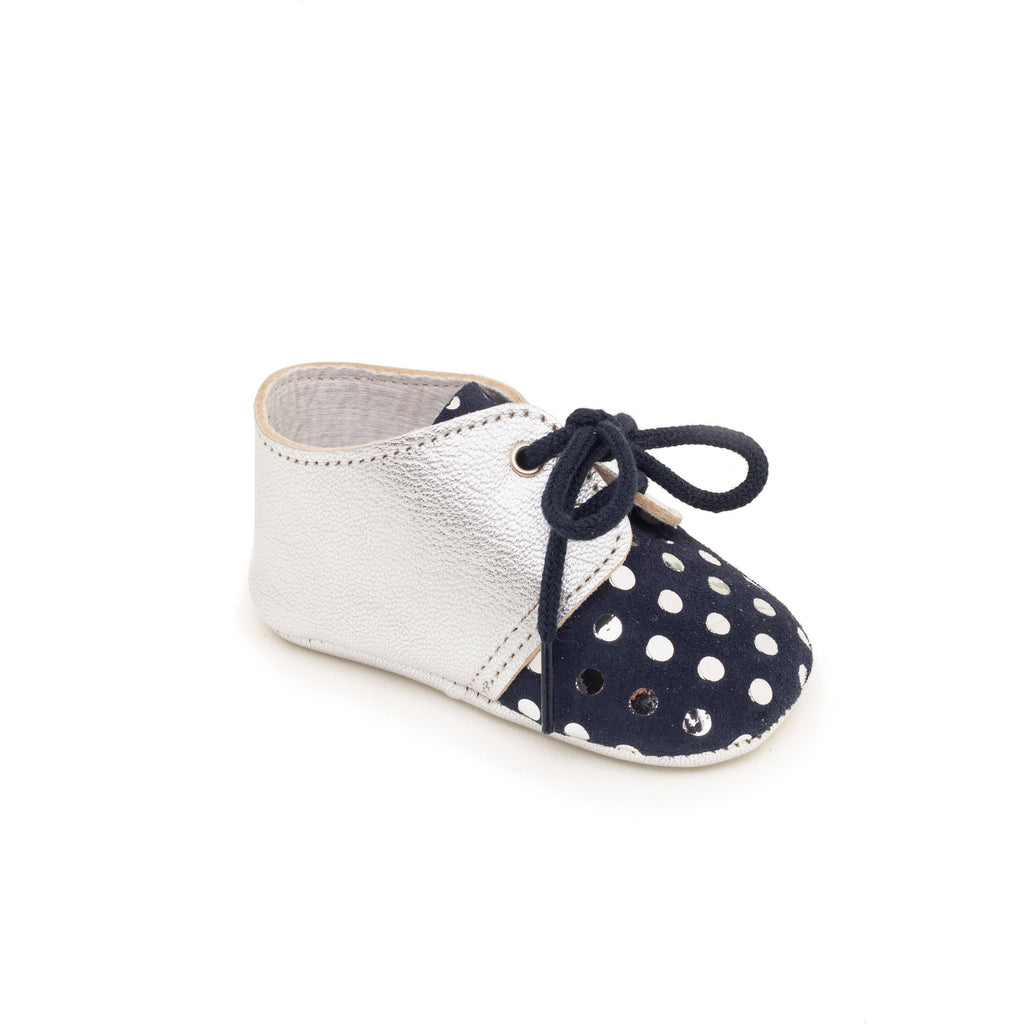 Baby shoe & First step shoe | Lou Light Marine & Silver