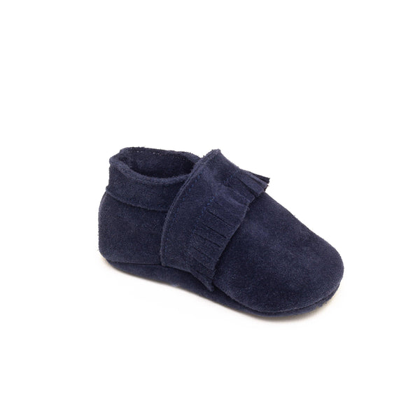 Slipper Baby shoe | Maxence Blue - Patt'touch English