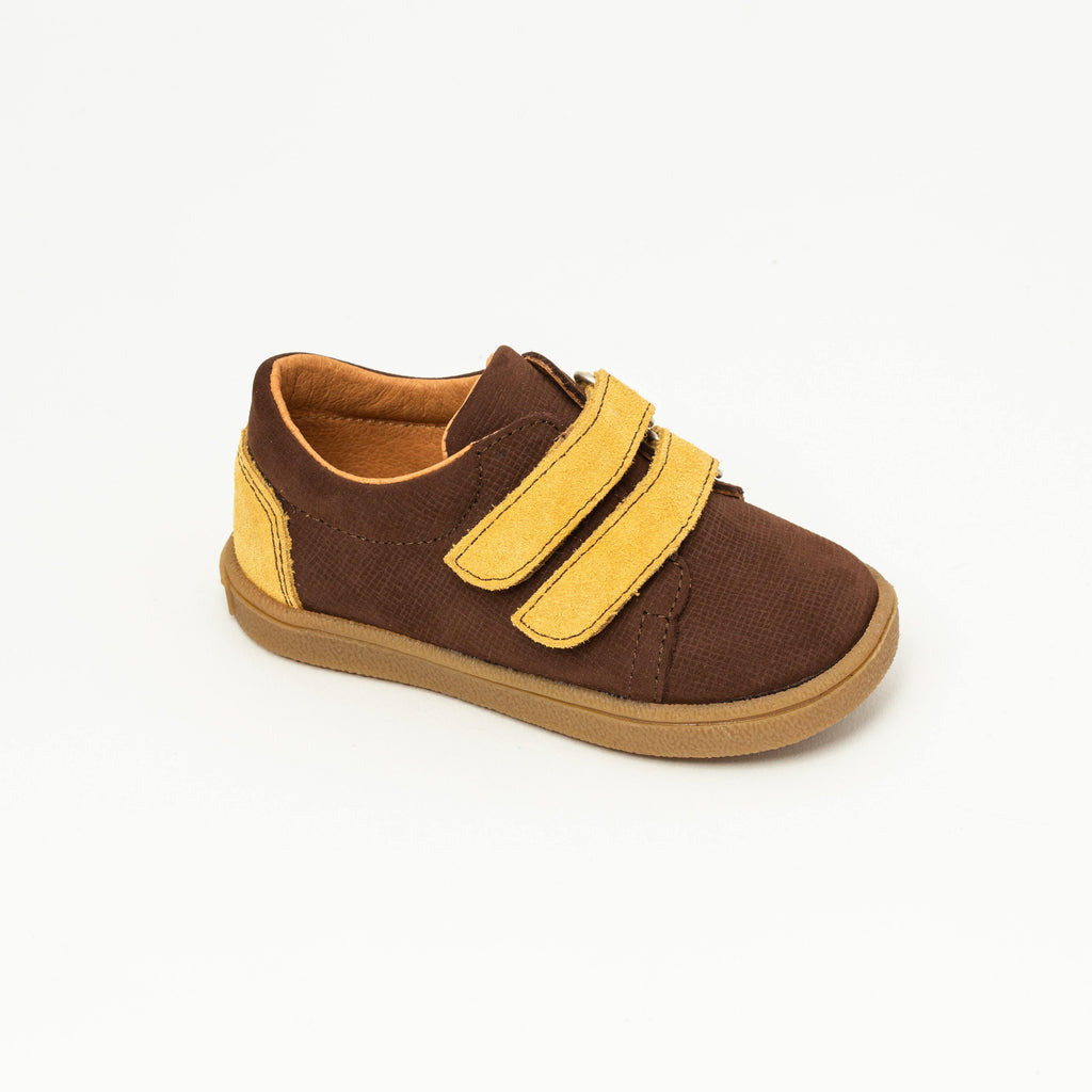 Sneaker Kid shoe | Mael Brown/Yellow