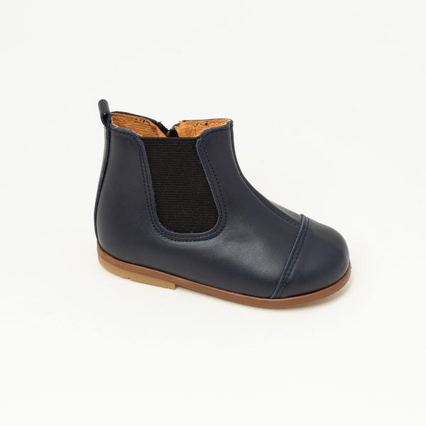 Boots Kid shoe | Mahe Blue