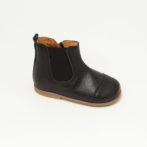 Boots Kid shoe | Mahe Black