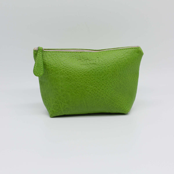 Marcel | Lime-Green Zip Pouch