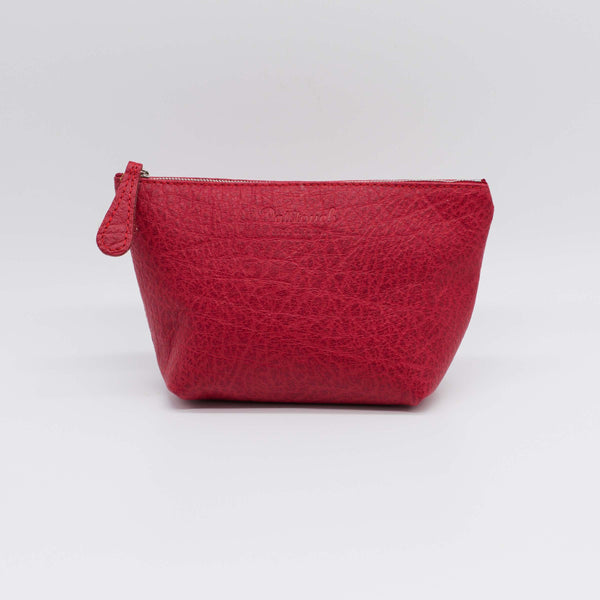 Michel | Burgundy-Red Zip Pouch