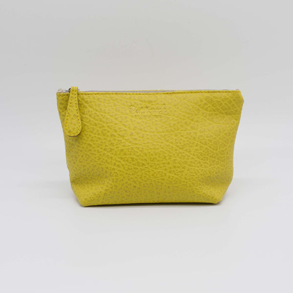 Lucette | Lemon-Yellow Zip Pouch