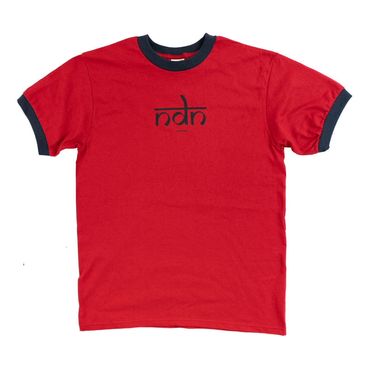 Ndn (Indian) Men's Ringer Tee