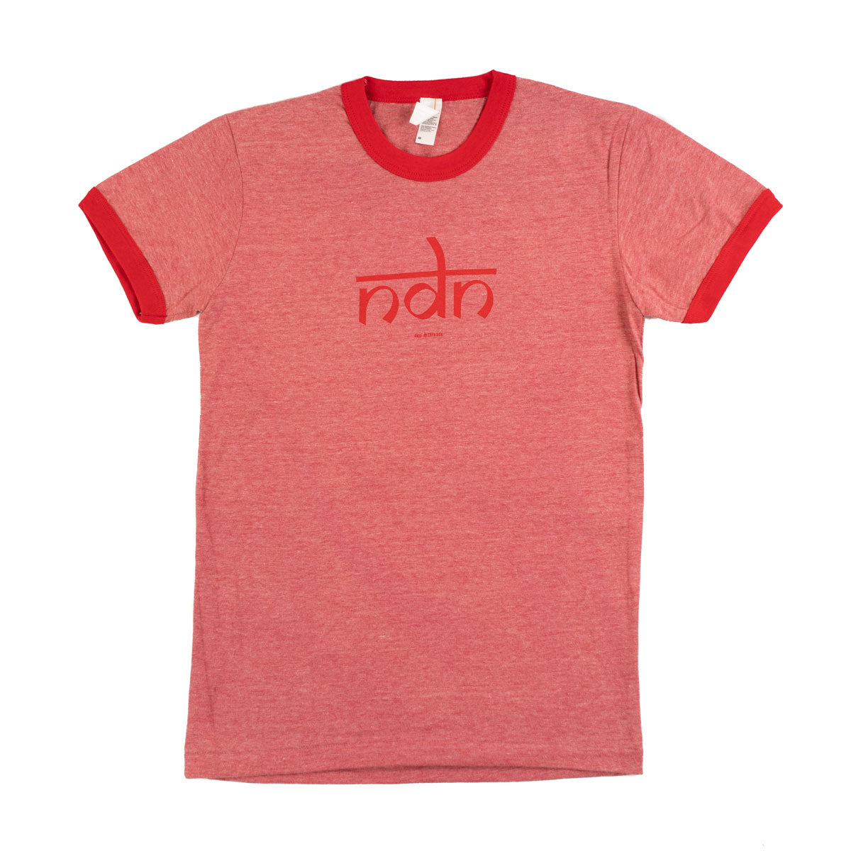 Ndn (Indian) Women's Vintage Ringer Tee