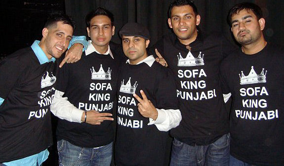 Sofa King Punjabi T-shirt
