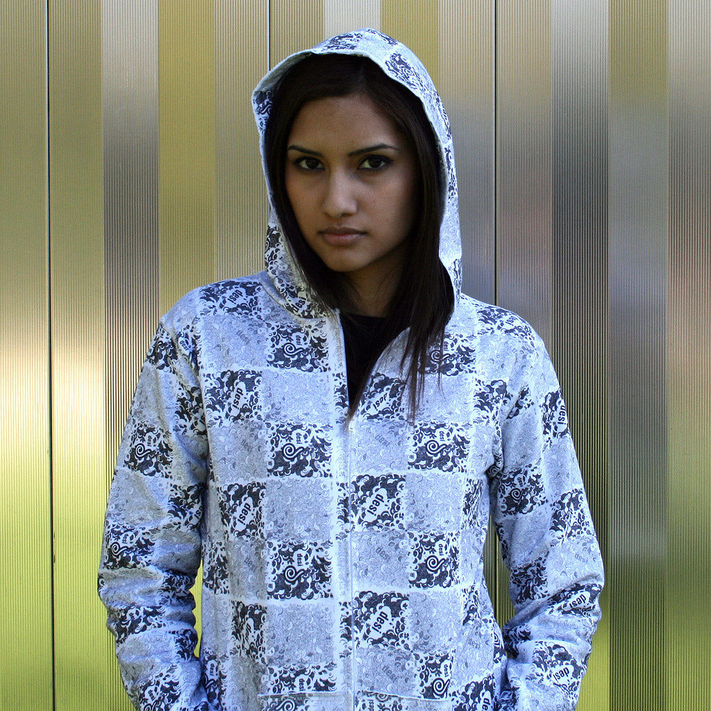 Desi All Over Hoodie