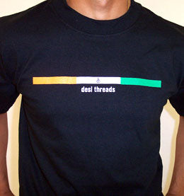 True Desi Tri Colors Unisex T-shirt