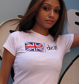 UK Desi Fitted T-shirt