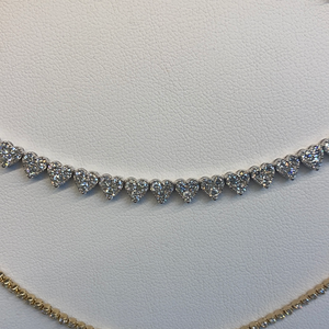 Half Heart Diamond necklace