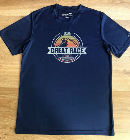 Eclipse Navy Great Race Running Top  - Men's