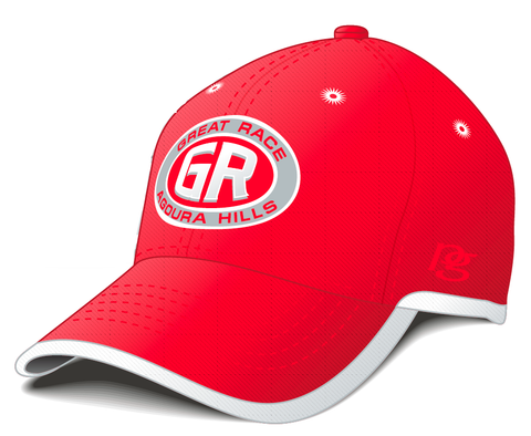 Great Race Red Running Hat