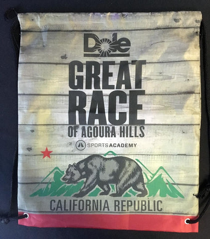 Great Race Drawstring Backpack