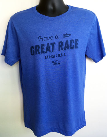 """Have a Great Race"" Short Sleeve Comfort Tee - Men's"