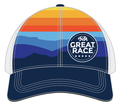 BOCO Gear Technical Trucker Great Race Running Hat