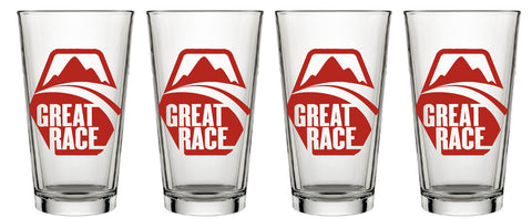Set of 4 Pint Glasses