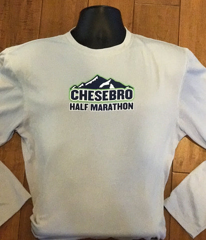 Chesebro Half Long Sleeve Tech Shirt (Silver)