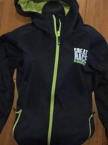 Women's Great Race Navy Performance Hoodie :: Small & Medium only