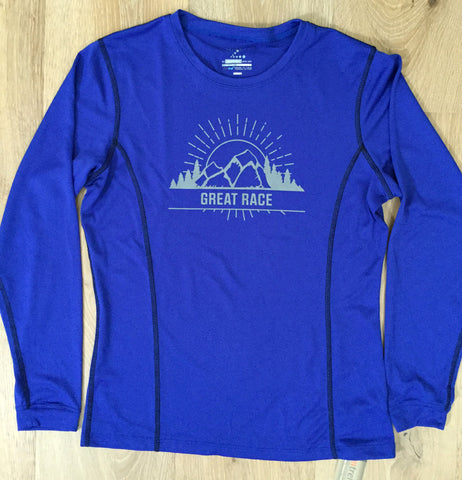 Great Race Mountain Women's Long Sleeve Tech Shirt