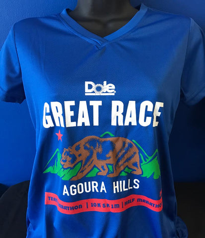 Great Race Running Shirt  - Women's