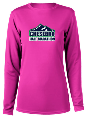 Chesebro Half Women's Long Sleeve Tech Shirt