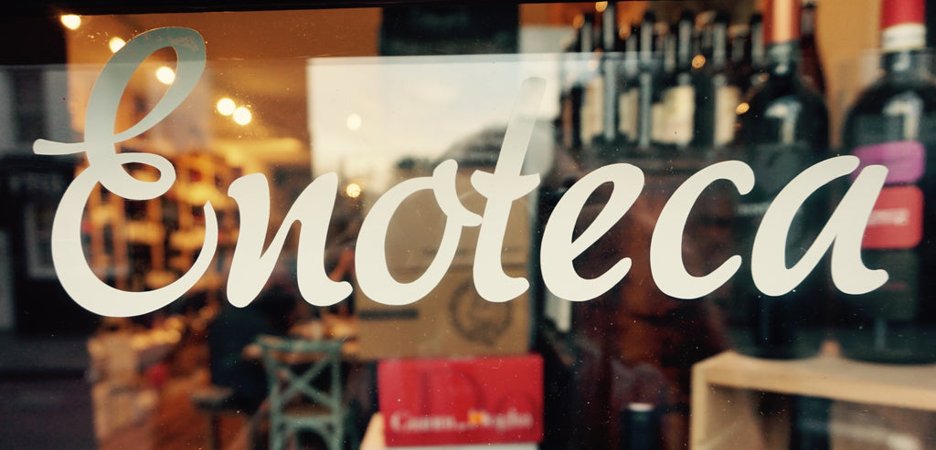 Enoteca.... it's more than a Wine Shop.