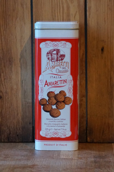 Amarettini biscuits Tower Tin - Lazzaroni - 225g
