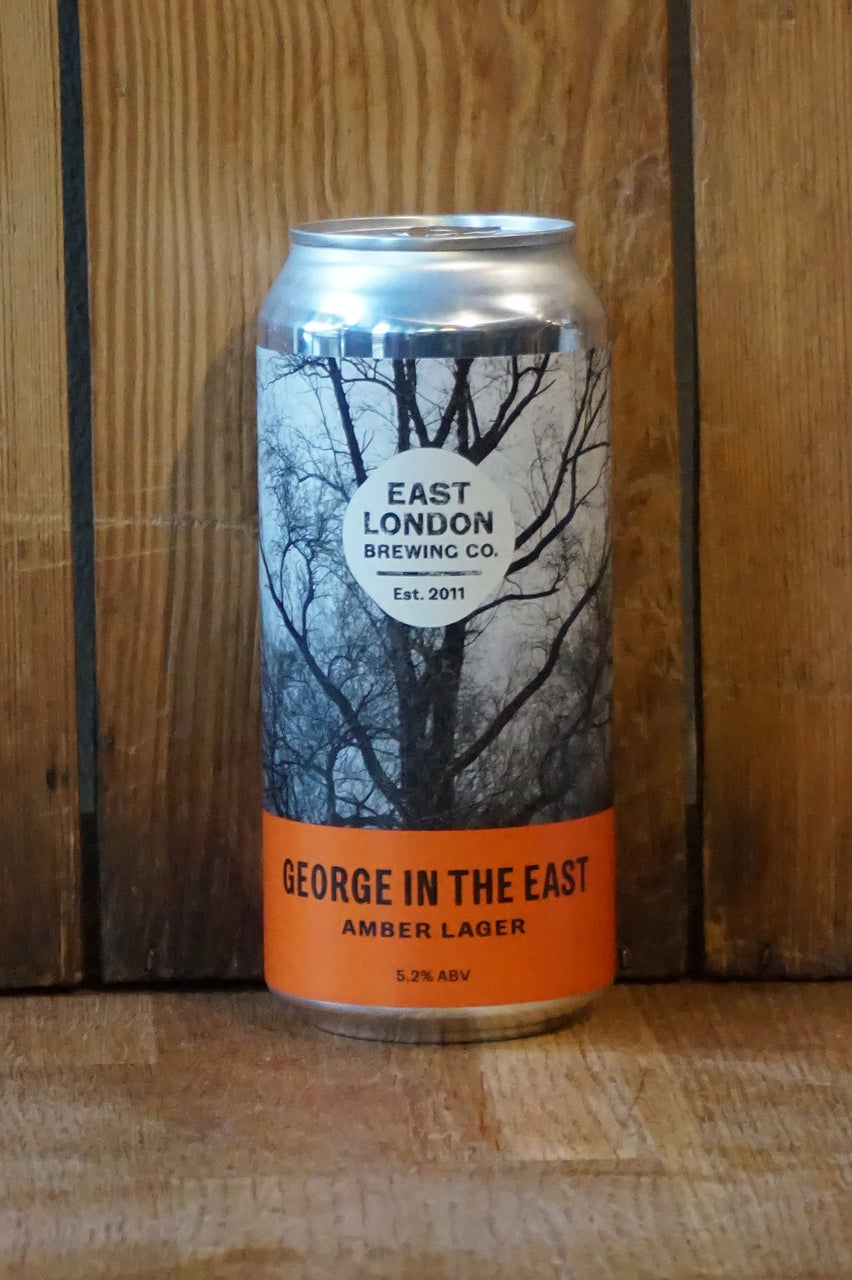 ELB - George in the East - Brown Lager - can 440ml - 5.2%