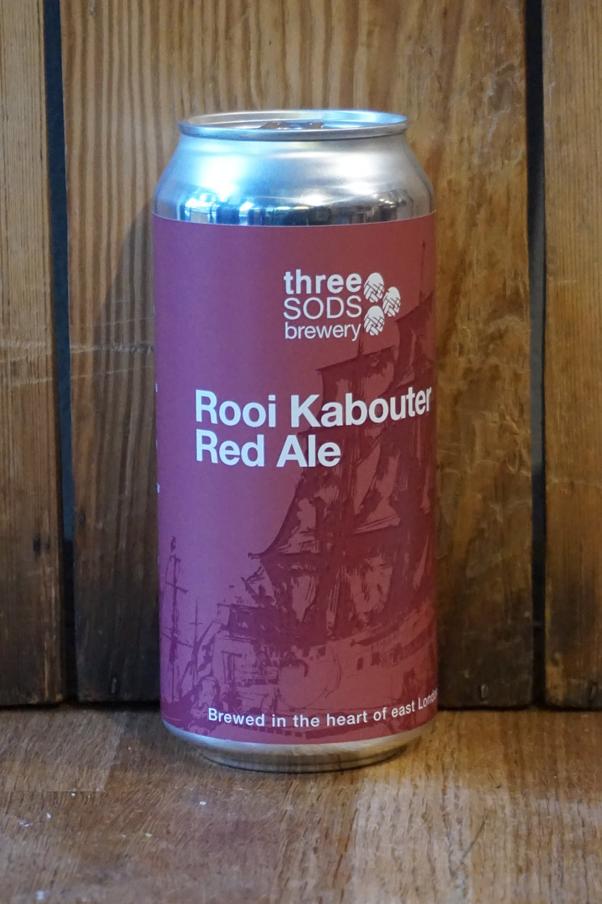 Three Sods Brewery - Rooi Kabouter Red Ale - Can 440ml - 4.9%