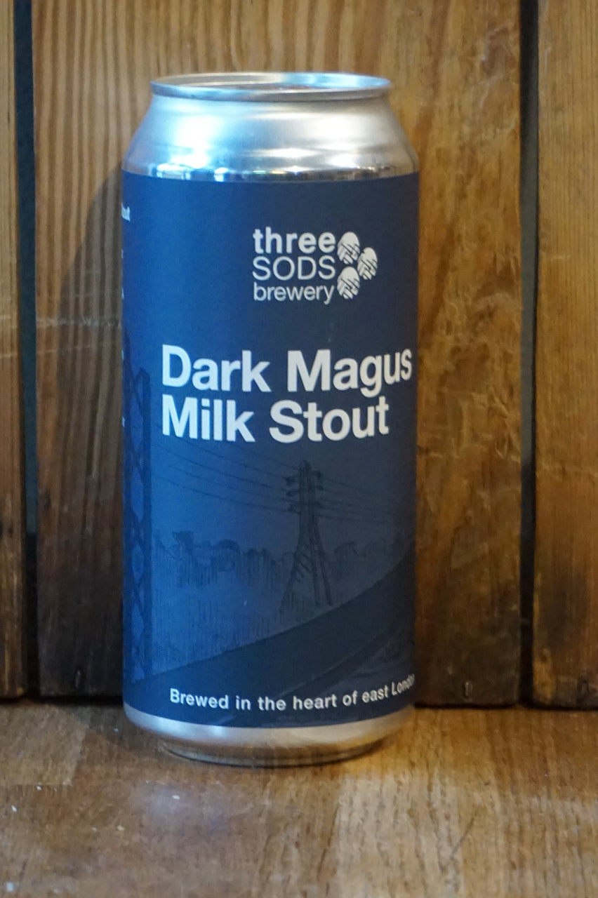 Three Sods Brewery - Dark Magus Milk Stout  - Can 440ml - 4.8%