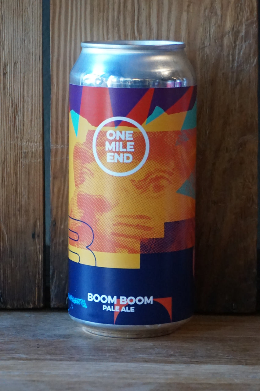 One Mile End - Boom Boom Pale - can 440ml - 4.1%
