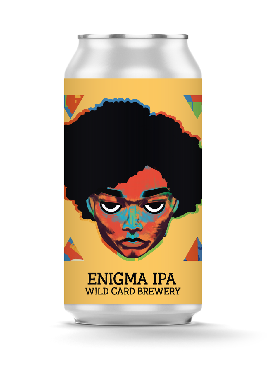 Wild Card  -  Enigma IPA  - can 440ml - 5.5% abv