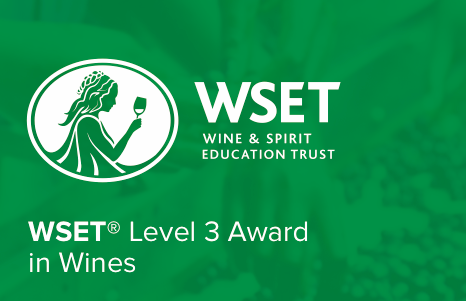 WSET Level 3 Award - 8 sessions from Monday 23rd of September until 15th of October