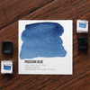 Prussian Blue Watercolor Half Pan - RedwoodWillow Handmade Watercolors