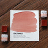 Venetian Red Watercolor Half Pan - RedwoodWillow Handmade Watercolors