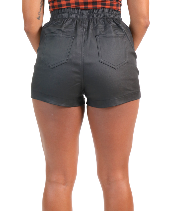 Roxy Faux Leather Shorts