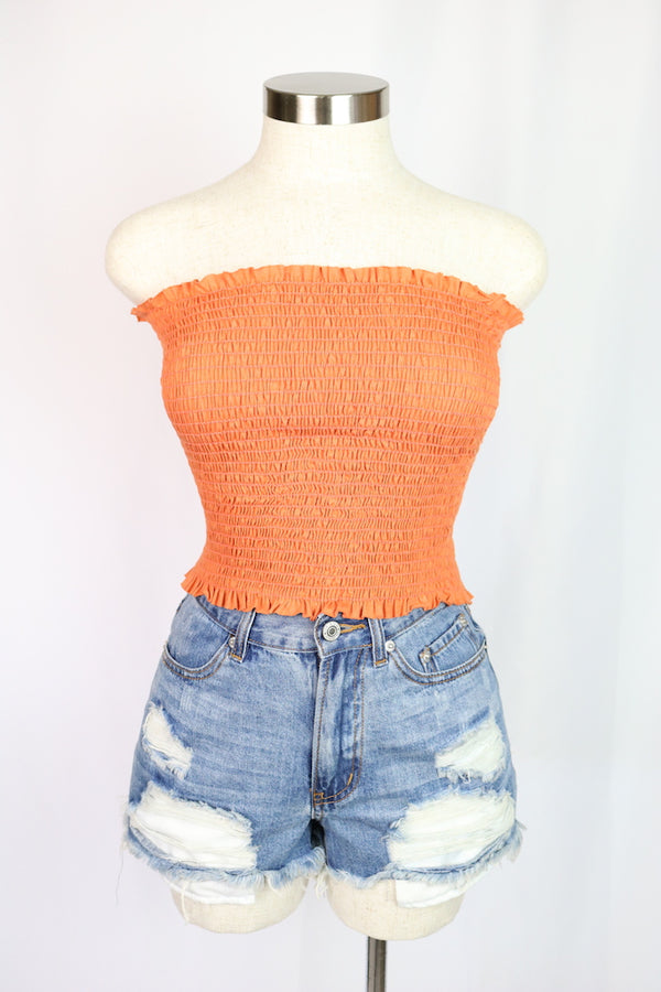 Maya Tube Top (Orange)