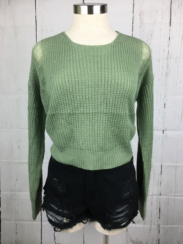 Adalyn Crop Sweater