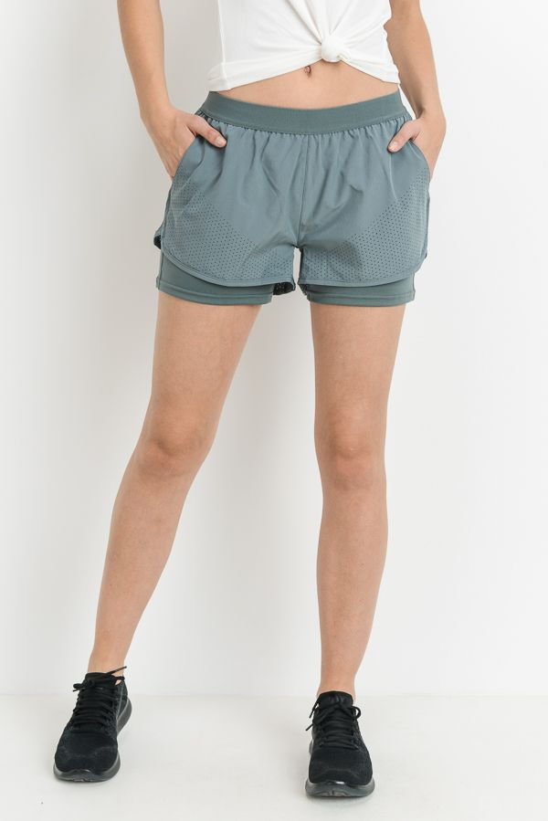 Aries Active Shorts - Misty Green