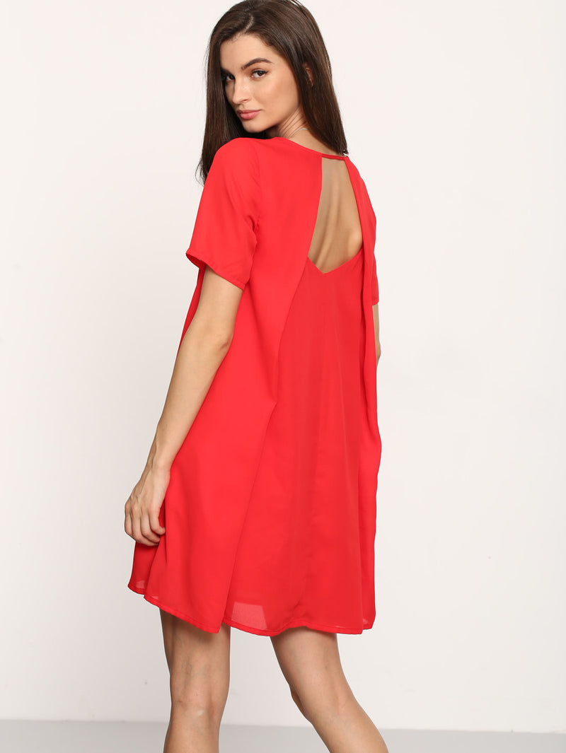 Open Back Tent Dress