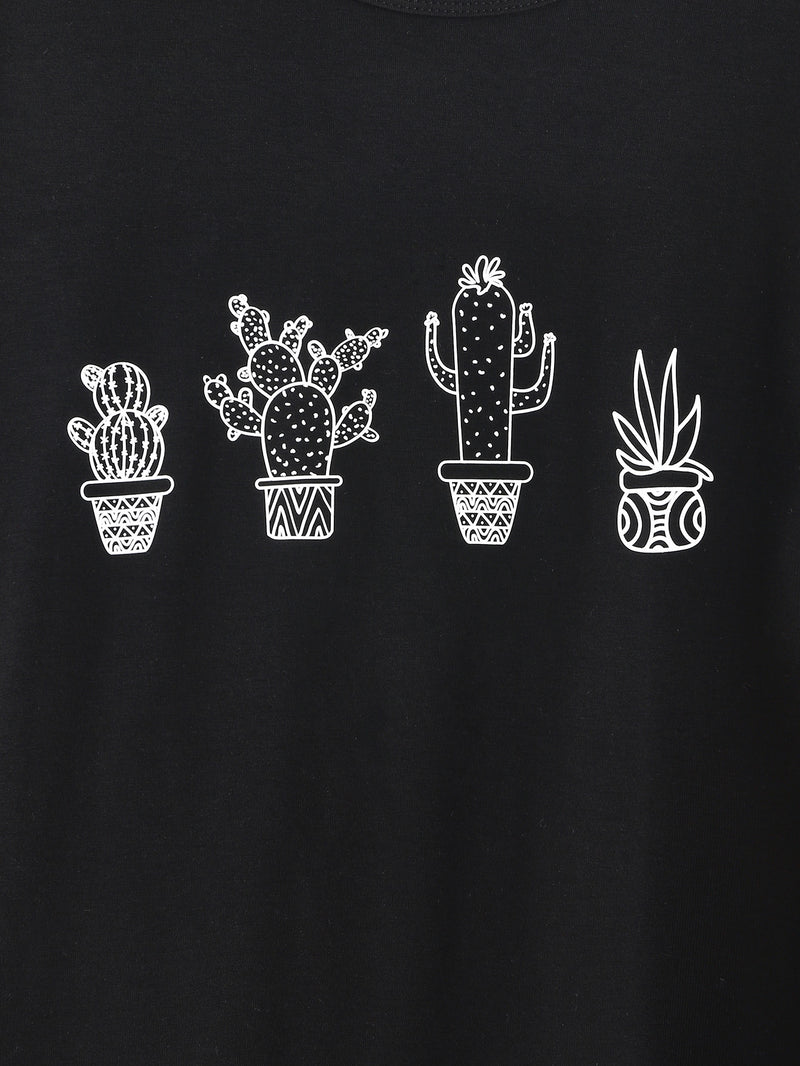 Cactus Potted Print Tee