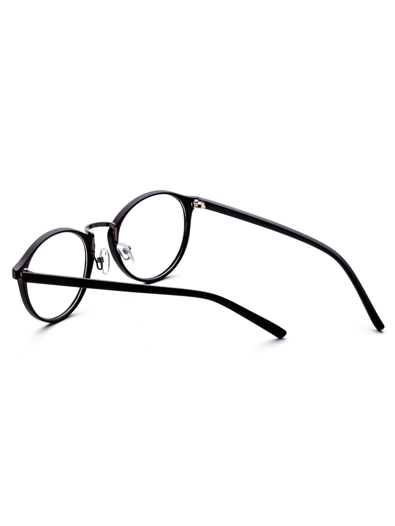 Black Frame Clear Lens Glasses