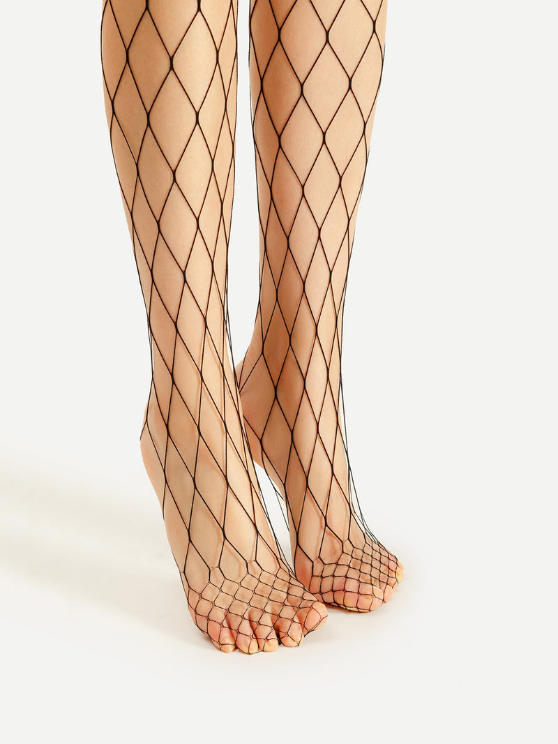 4pcs Sexy Fishnet Tight
