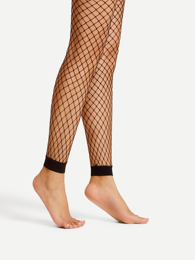 Footless Fishnet Tights