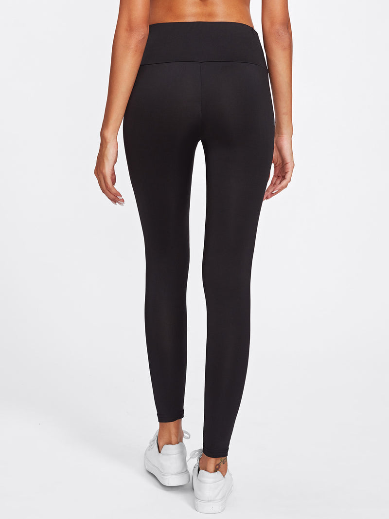 Active Ladder Ripped Leggings