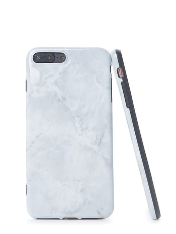 Simple Marble Pattern iPhone Case
