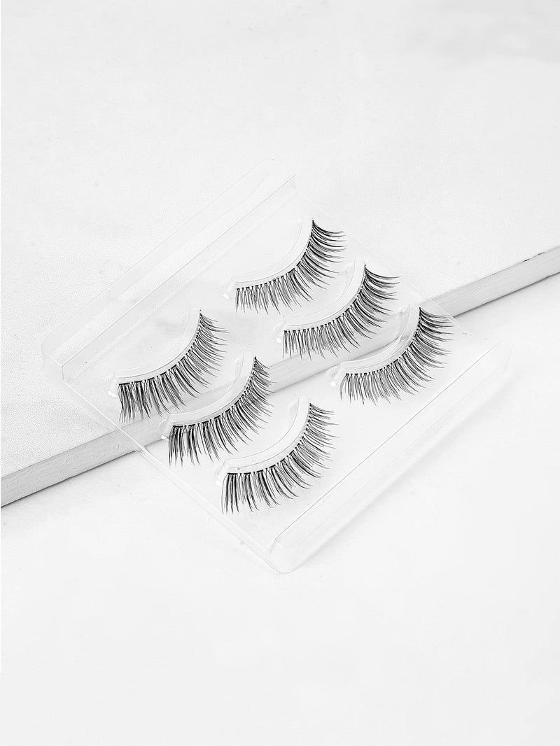Natural False Eyelash 3pairs