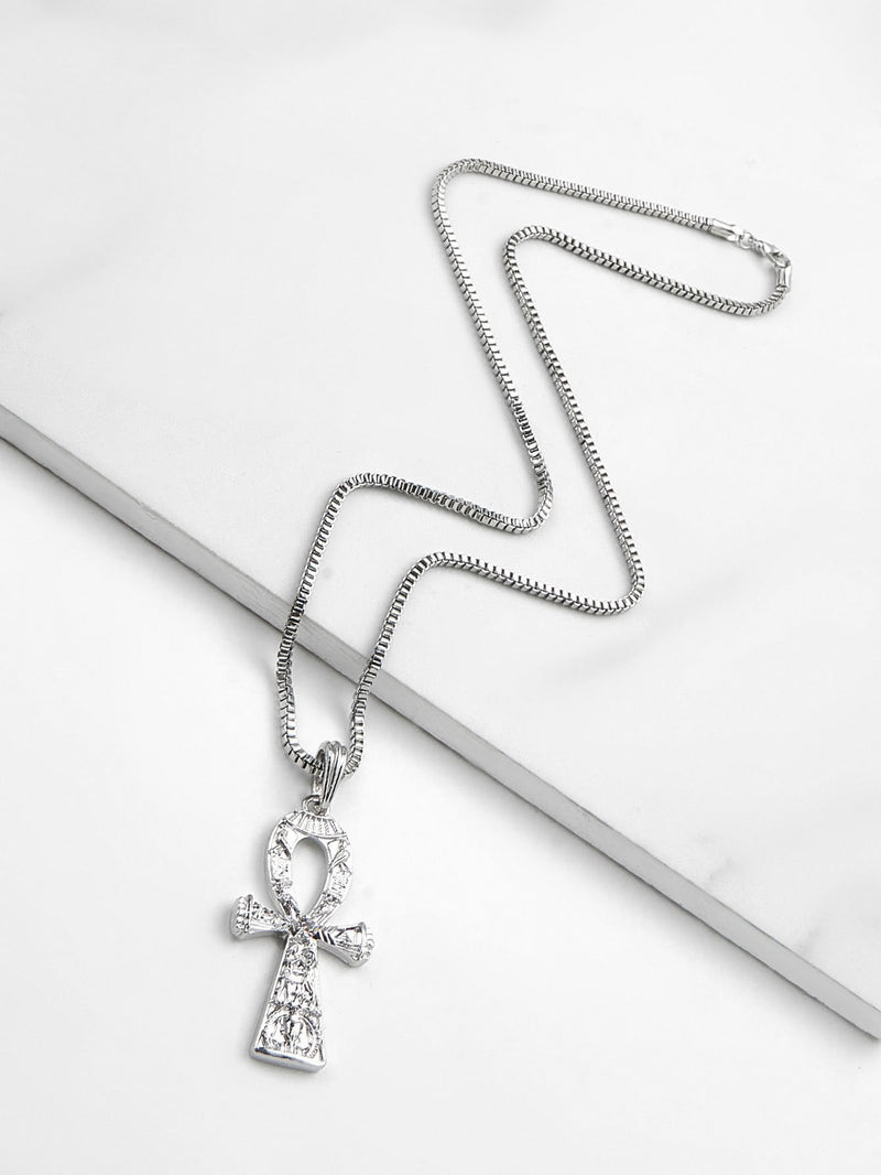 Cross Pendant Chain Necklace